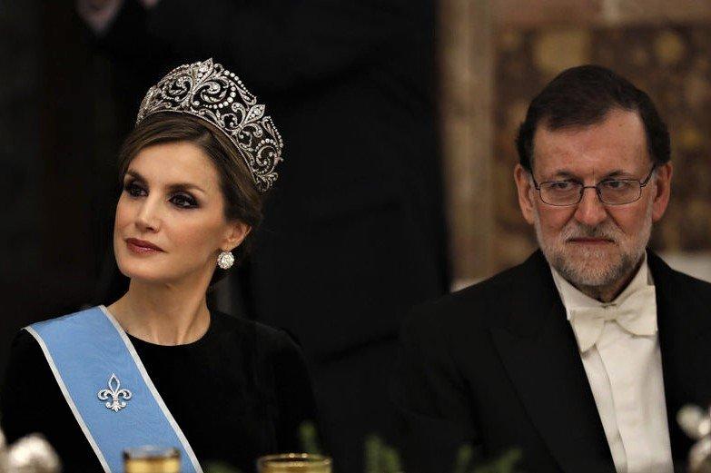 Letizia y Mariano Rajoy